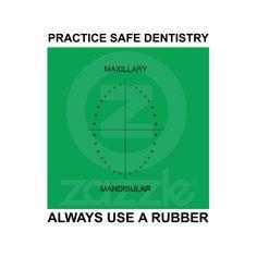 dental humor, practic safe, dental funni, dental assist, safe dentistri