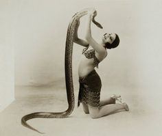 Circus Snake Charmers