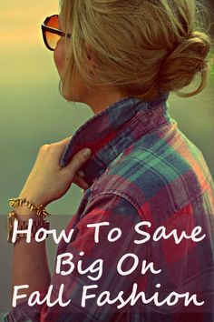 Just found out how to save big on fall fashion aka my favorite season!