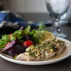 Lemon Rosemary Grouper by @Angie Wimberly McGowan (Eclectic Recipes)  (EclecticRecipes.com )#recipe