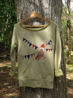 homeward bound Bird Sweatshirt super soft SMLXL by nicandthenewfie, $34.00