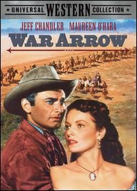 War Arrow    Directed by	George Sherman  Produced by	John W. Rogers  Written by	John Michael Hayes  Starring	Jeff Chandler  Maureen O'Hara  Cinematography	William H. Daniels  Editing by	Frank Gross  Distributed by	Universal Pictures  Release date(s)	December 26, 1953