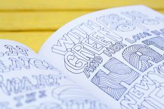 """From """"Typography Sketchbooks"""" by Steven Heller and Lita Talarico"""