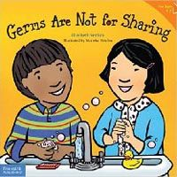 Book, Germs Are Not For Sharing by Elizabeth Verdick