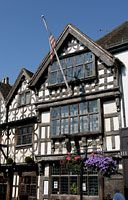 Harvard House, Stratford-upon-Avon ,UK built 1637. Oliver Cromwell stayed here!