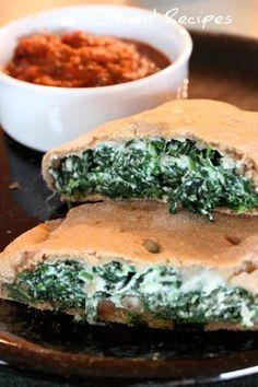 Spinach Calzones Recipes Delicious Delicious