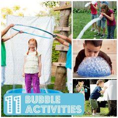 Bubble, Bubbles, Bubbles! 11 Bubble Activities