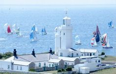 catheri lighthous, isl, english lighthouses, catherin lighthous, wight england, st catherin