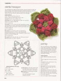 es facilisimocom, sólo con, flore crochet, crochet flowers with diagram, con paso, manualidad es, crochet sólo, crochet flore, aprend manualidad