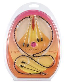 Y-style beaded nipple clamps – purple #nippleclamps #nipple #clamp