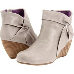 grey shoes wedges booties