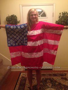 American Flag costume
