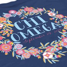 Chi Omega - Chi O - Big Little Reveal Design - Sorority shirts - Check out b-unlimited.com!