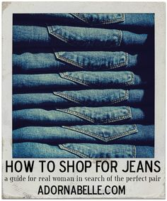 Oh, Jean Shopping...