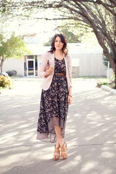 Asymmetric dress #style #outfit