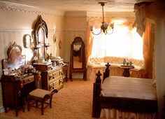 Brownstone Third Floor Master Bedroom.  Left Wall View