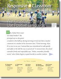 Responsive Classroom Blog