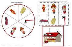 October is Fire Safety Month. This Fire Safety Counting Fun Cut and Paste set can be used to teach students about the danger of Fire and how to be safe. This Fire Safety Counting Cut and Paste can be used as part of Thematic Unit. This 18 page set consists of the following; Number Matching, Counting, Addition, Subtraction, Ordinal numbers, Which Is More?, Which Is Less?, Fire Safety board Games.