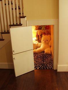 Secret rooms :) #design hidden spaces and home fun!
