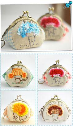 Cute coin purses.