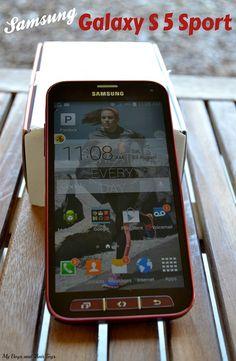 Samsung Galaxy S 5 Sport smartphone #review #fitness #MC #SprintMom #sponsored