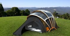 Solar Powered Tent.