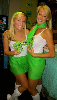 The Doublemint Twins costume
