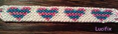 heart bracelet, bracelet pattern, bracelet craft, diy bracelet, friendship bracelet