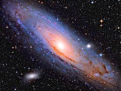 M31 Andromeda 2014 update (130pds + 80ED)