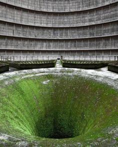 15 of the World's Most Strange Abandoned Places - I.M. Cooling Tower, Belgium