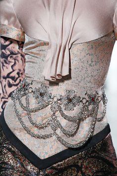 Rodarte SS13 detailed dress with Swarovski Elements. Photography by Dan Lecca.
