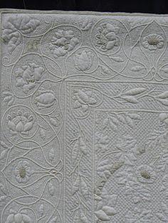Beautiful wholecloth