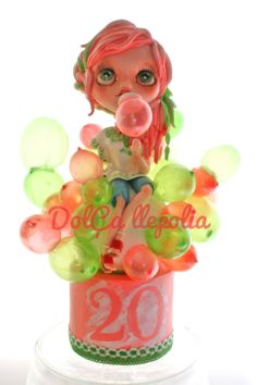 Blythe Bubble Birthday Cake