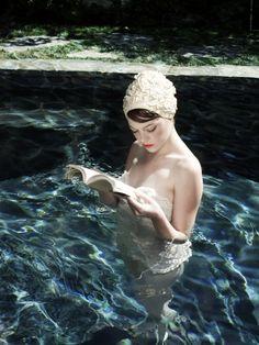 In summertime. #booksarethenewblack