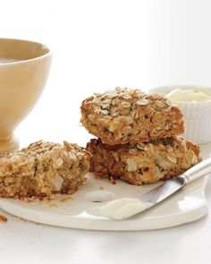 Apple and Oat Scones with Cinnamon and Nutmeg