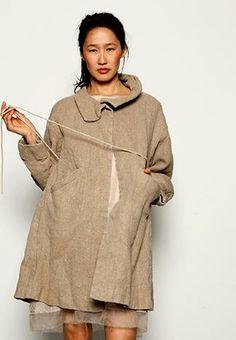 griffon linen coat