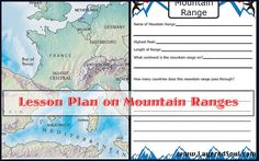 mountain rang, lesson plan