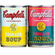 Andy Warhol's legendary Campbell's Soup Cans comes to life!