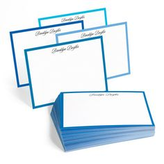 The Mediterranean Border Note Cards Collection