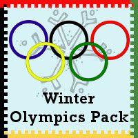 Winter Olympics Printables - 3Dinosaurs.com