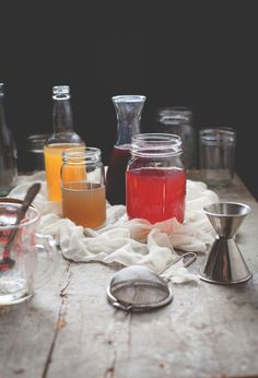 Cold-Process Infused Simple Syrups by Reclaiming Provincial