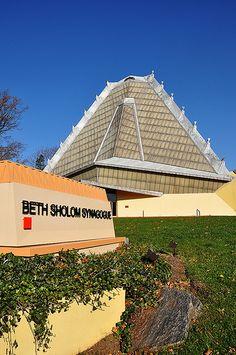 Beth Sholom Synagogue - Frank Lloyd Wright
