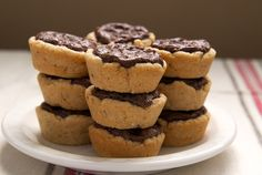 Peanut Butter Fudge Tartlets   Bake or Break