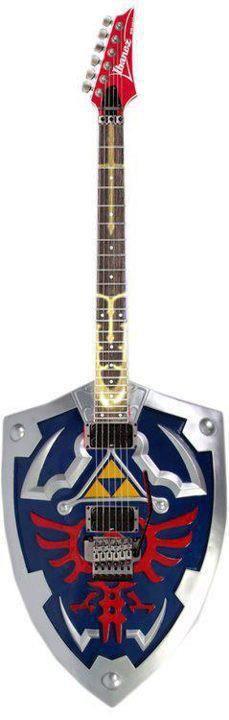 Zelda inspired guitar