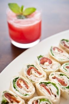 Turkey Pinwheels= I make these but I have never fixed them with the peppers