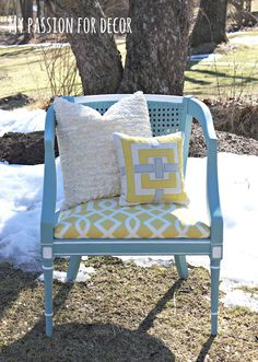Great How-To on how to reupholster a chair