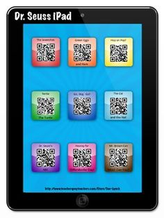 Listen to Reading in a fun and engaging way!  Students scan a QR Code and a Dr. Seuss book/story is read to them!  Enjoy!
