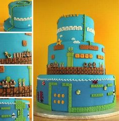 Ummmm... I want this cake for my birthday... yes, I'm serious.