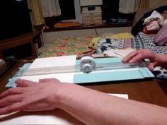 "Scrapbooking - 6×6 flip flap mini album tutorial"" - YouTube"