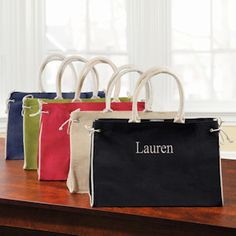 Personalized Hampton Tote from Wedding Favors Unlimited